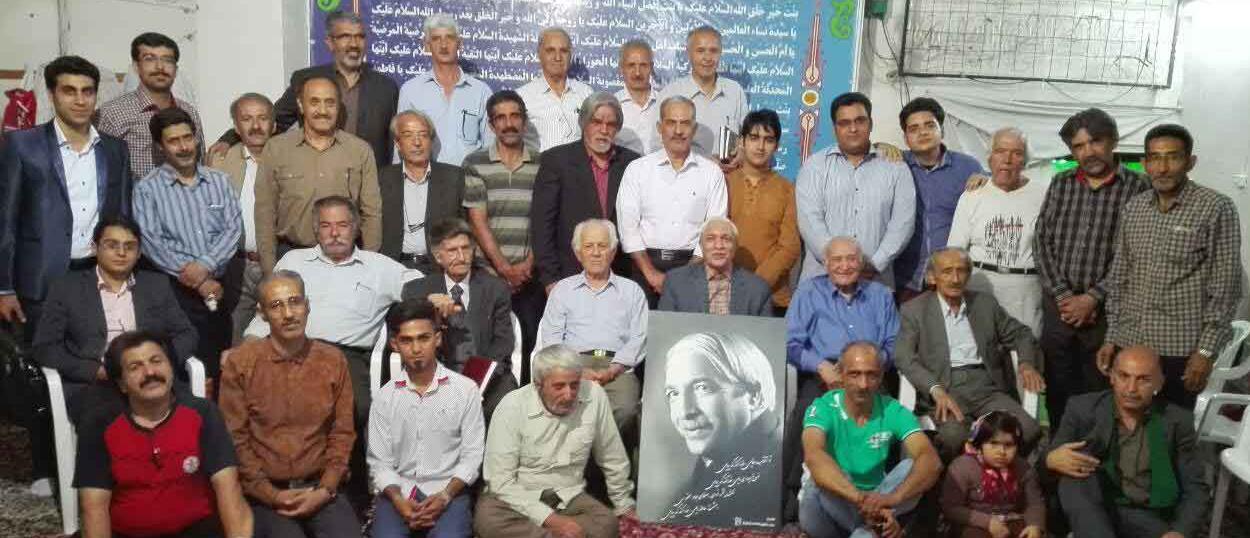 مراسم رونمایی از وبسایت شاعر فرهیخته استاد سیدعلی اصغر صائم کاشانی